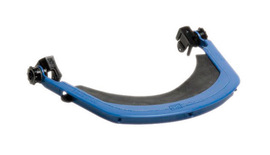 Bullard 400W  Dielectric Nylon Slot Mounting Faceshield Bracket With Blades And Neoprene Gas For Use With Model S51, S61, S62 and C30 Slotted Cap