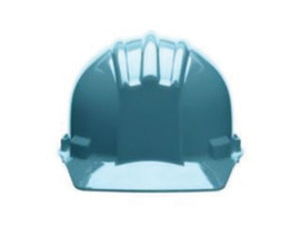 Bullard 51SLP  Slate Blue Standard S51 HDPE Cap Style Hard Hat With 4 Point Pinlock Suspension, Accessory Slots And Absorbent Polyester Brow Pad