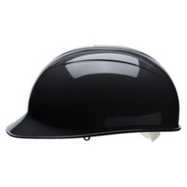 Bullard BCBKV  Black HDPE Cap Style Bump Cap With Pinlock Suspension And Vinyl Brow Pad