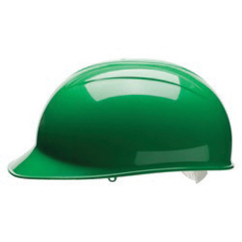 Bullard BCFGV  Green HDPE Cap Style Bump Cap With Pinlock Suspension And Vinyl Brow Pad