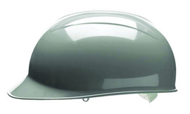 Bullard BVDGV  Gray HDPE Cap Style Bump Cap With Pinlock Suspension And Vinyl Brow Pad