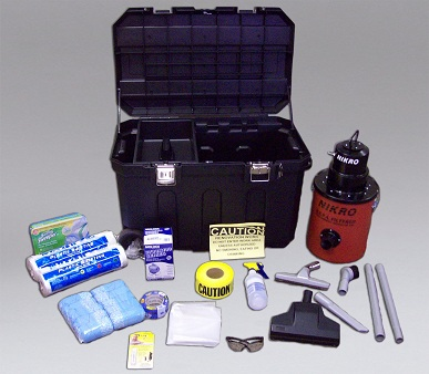 NIKRO 861989 RRP Compliance Kit #1 Lead Paint EPA Safety