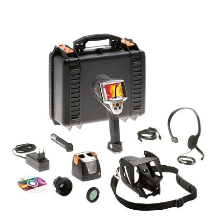 Testo 881-2 IR Infrared Camera Thermal Imager Deluxe Set